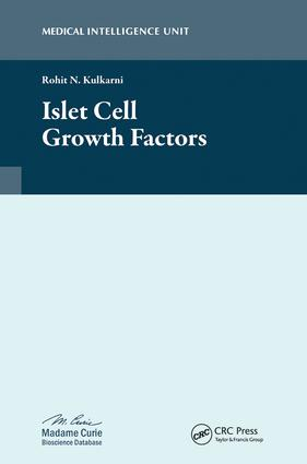 Islet Cell Growth Factors: 1st Edition (Hardback) book cover