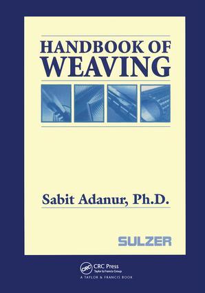 Handbook of Weaving: 1st Edition (Hardback) book cover