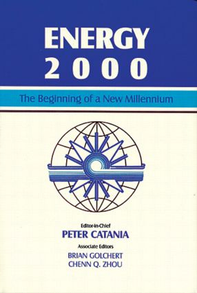 Energy 2000: The Beginning of a New Millennium, 1st Edition (Hardback) book cover