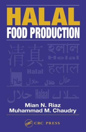 Halal Food Production: 1st Edition (Hardback) book cover