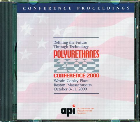 Polyurethanes Conference 2000: Defining Future Through Technology (CD-ROM), 1st Edition (CD-ROM) book cover