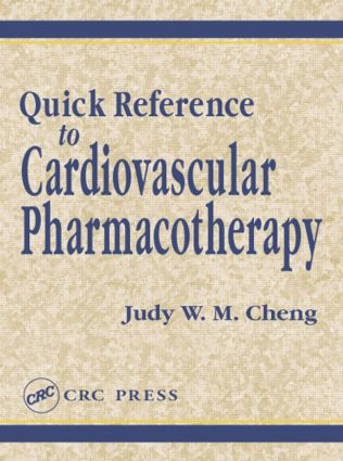 Quick Reference to Cardiovascular Pharmacotherapy: 1st Edition (Paperback) book cover