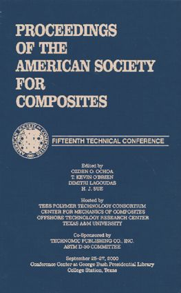 American Sociey of Composties, Fifteenth International Conference: 1st Edition (Hardback) book cover