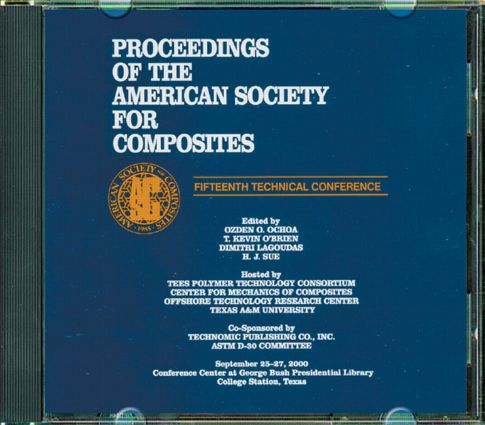 American Sociey of Composties, Fifteenth International Conference (CDROM): 1st Edition (CD-ROM) book cover
