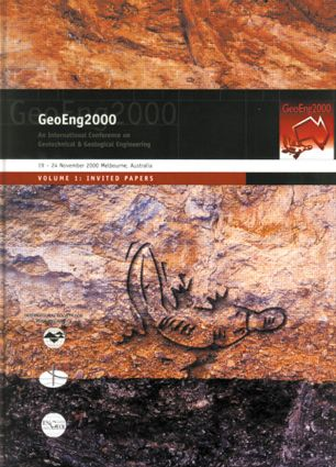 GeoEng 2000: Invited Papers, 1st Edition (Hardback) book cover