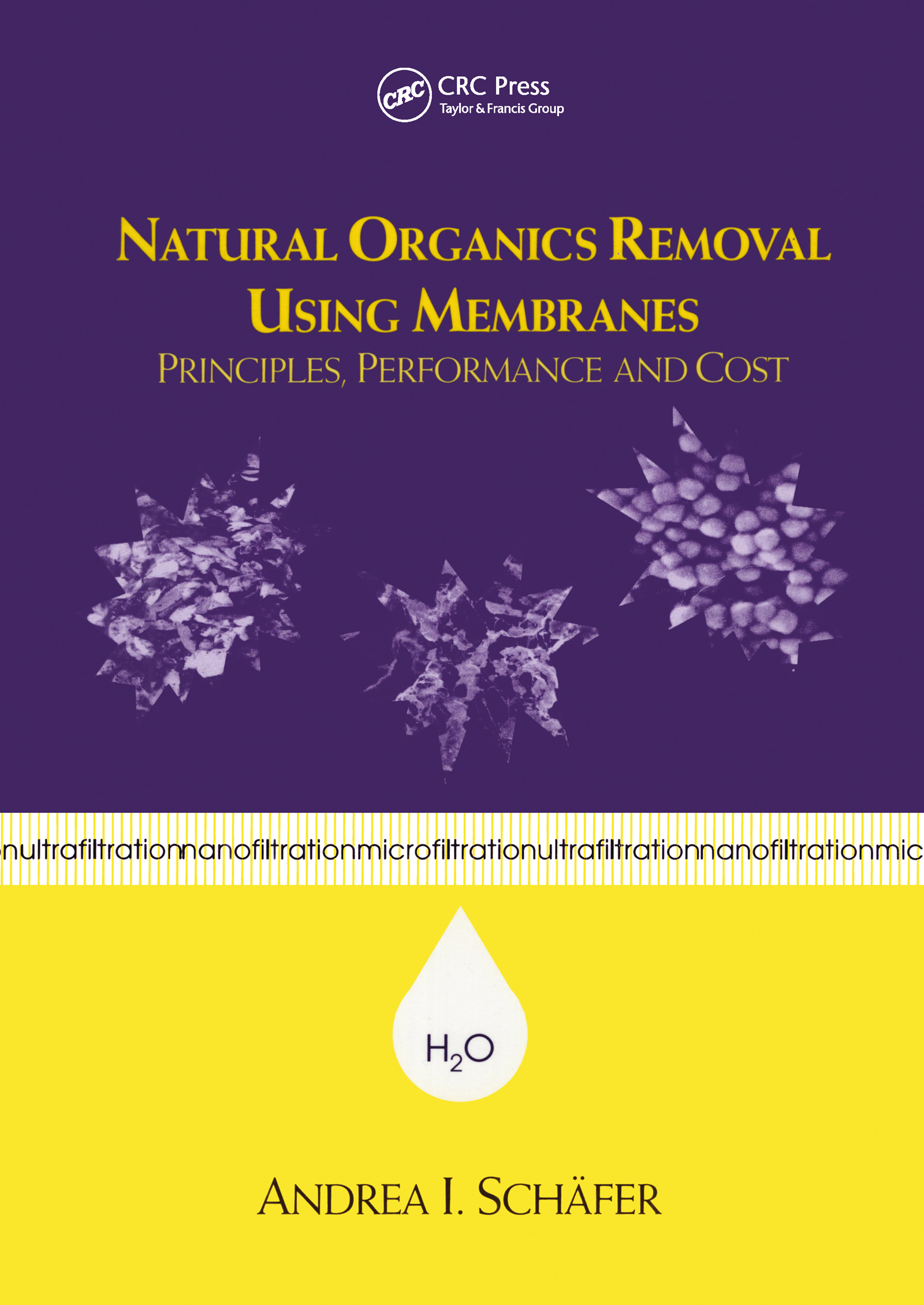 Natural Organics Removal Using Membranes: Principles, Performance, and Cost, 1st Edition (Hardback) book cover
