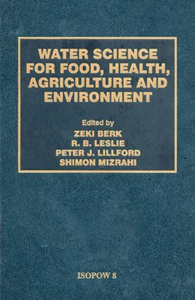 Water Science for Food Health: 1st Edition (Hardback) book cover