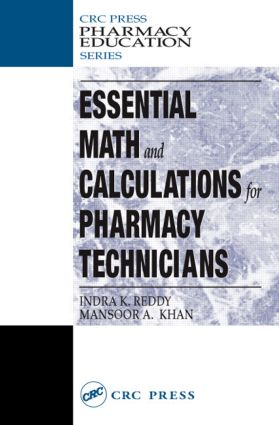 Essential Math and Calculations for Pharmacy Technicians book cover