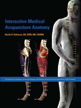 Interactive Medical Acupuncture Anatomy: 1st Edition (Hardback) book cover