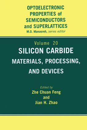Silicon Carbide: Materials, Processing & Devices, 1st Edition (Hardback) book cover