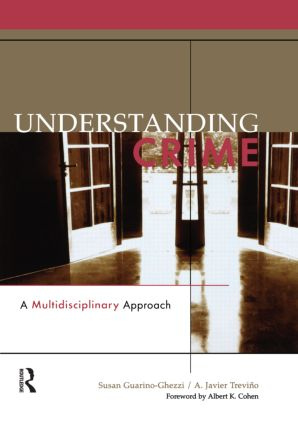 Understanding Crime: A Multidisciplinary Approach, 1st Edition (Paperback) book cover