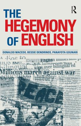 Hegemony of English: 1st Edition (Paperback) book cover