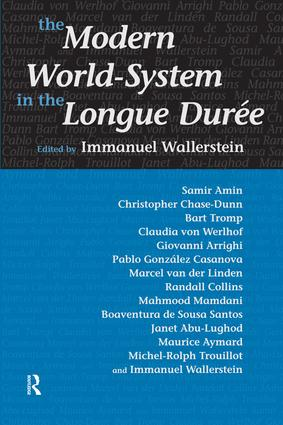 Modern World-System in the Longue Duree: 1st Edition (Paperback) book cover