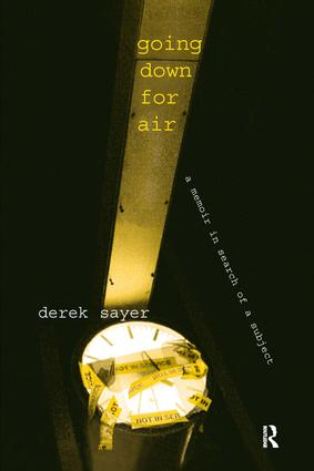 Going Down for Air: A Memoir in Search of a Subject, 1st Edition (Paperback) book cover