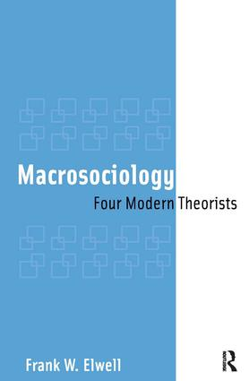 Macrosociology: Four Modern Theorists, 1st Edition (Paperback) book cover