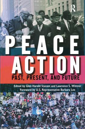 Peace Action: Past, Present, and Future, 1st Edition (Paperback) book cover