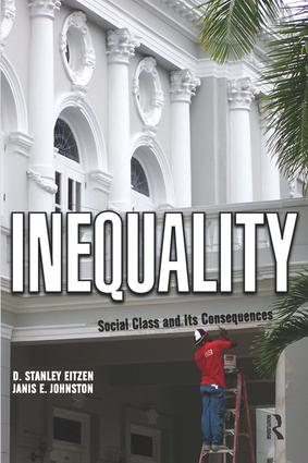 Inequality: Social Class and Its Consequences, 1st Edition (Paperback) book cover