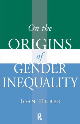 On the Origins of Gender Inequality: 1st Edition (Paperback) book cover