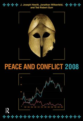 Peace and Conflict 2008: 1st Edition (Paperback) book cover