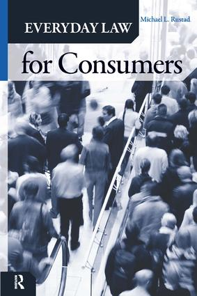 Everyday Law for Consumers: 1st Edition (Hardback) book cover