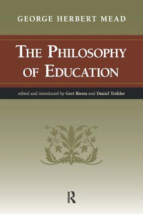 Philosophy of Education: 1st Edition (Paperback) book cover