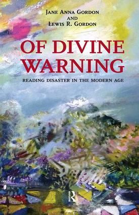 Of Divine Warning: Disaster in a Modern Age, 1st Edition (Paperback) book cover