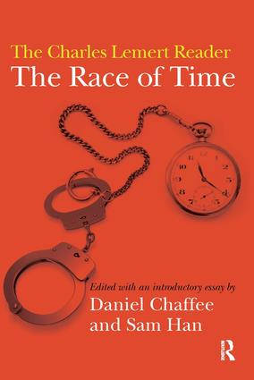 Race of Time: A Charles Lemert Reader (Paperback) book cover