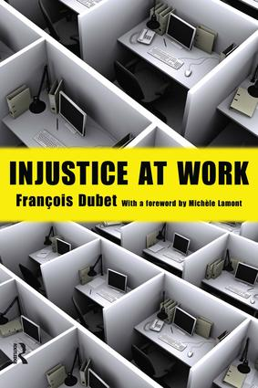Injustice at Work: 1st Edition (Paperback) book cover