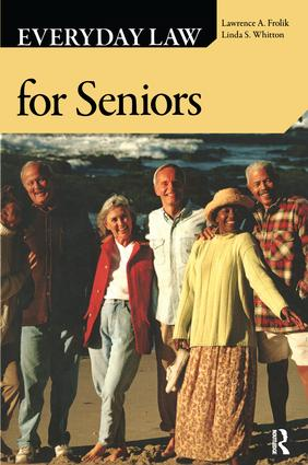 Everyday Law for Seniors: 1st Edition (Paperback) book cover