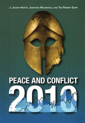 Peace and Conflict 2010: 1st Edition (Paperback) book cover