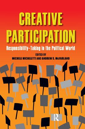 Creative Participation: Responsibility-Taking in the Political World book cover