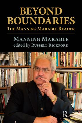 Beyond Boundaries: The Manning Marable Reader, 1st Edition (Paperback) book cover