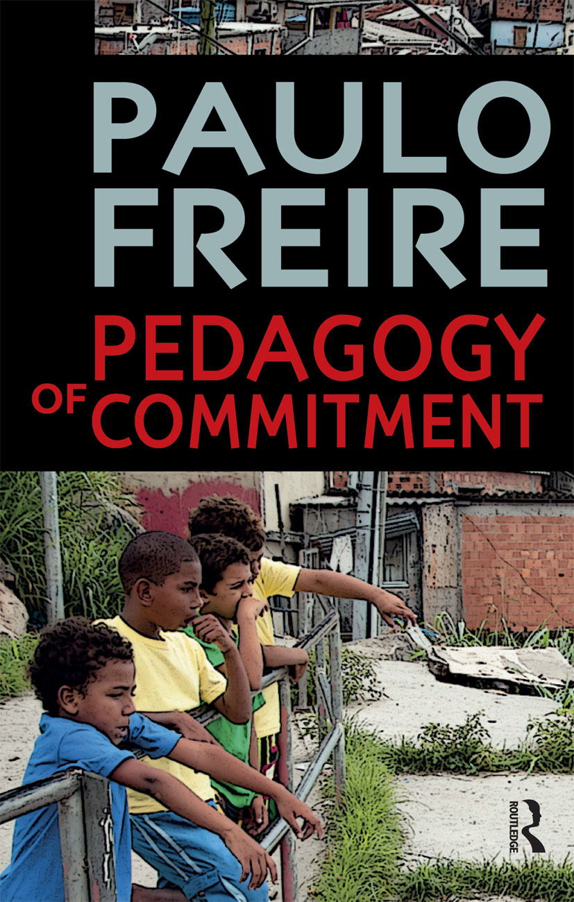 Pedagogy of Commitment: 1st Edition (Paperback) book cover