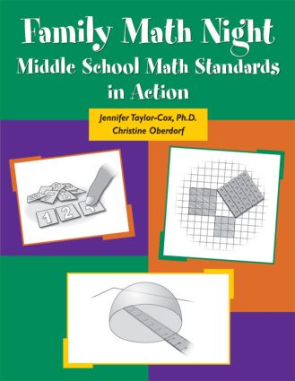 Family Math Night: Math Standards in Action in Middle School, 1st Edition (e-Book) book cover