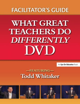 What Great Teachers Do Differently Facilitator's Guide: 1st Edition (Paperback) book cover