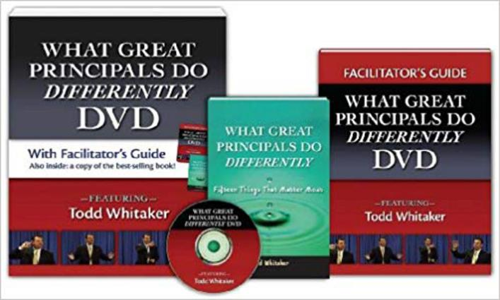 What Great Principals Do Differently DVD and Facilitator's Guide: 1st Edition (Hardback) book cover