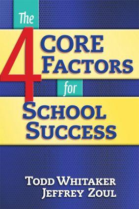 4 CORE Factors for School Success: 1st Edition (Paperback) book cover