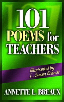 101 Poems for Teachers book cover