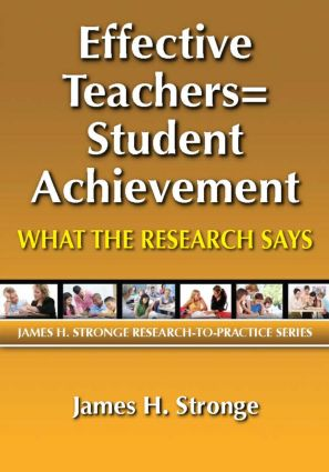 Effective Teachers=Student Achievement: What the Research Says, 1st Edition (Paperback) book cover