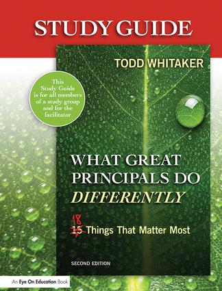 Study Guide: What Great Principals Do Differently: Eighteen Things That Matter Most, 2nd Edition (Paperback) book cover