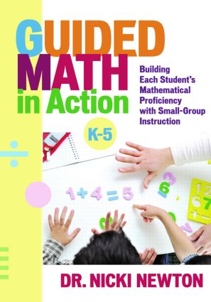 Guided Math in Action: Building Each Student's Mathematical Proficiency with Small-Group Instruction (Paperback) book cover