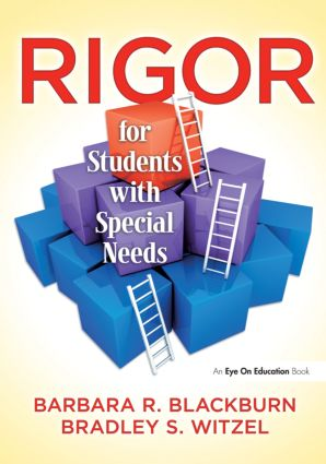 Rigor for Students with Special Needs: 1st Edition (Paperback) book cover