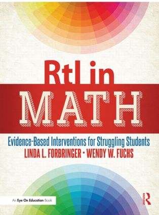 RtI in Math: Evidence-Based Interventions for Struggling Students, 1st Edition (Paperback) book cover