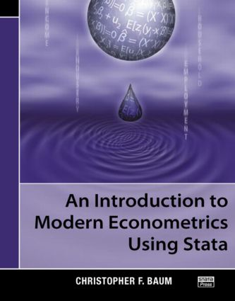 An Introduction to Modern Econometrics Using Stata: 1st Edition (Paperback) book cover