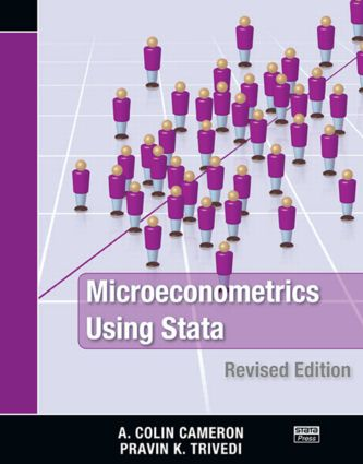 Microeconometrics Using Stata: Revised Edition, 2nd Edition (Paperback) book cover