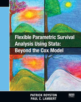 Flexible Parametric Survival Analysis Using Stata: Beyond the Cox Model (Paperback) book cover