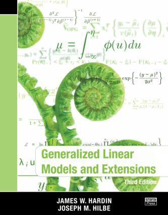 Generalized Linear Models and Extensions, Third Edition: 3rd Edition (Paperback) book cover