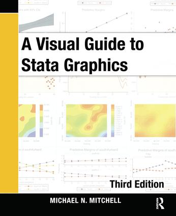 A Visual Guide to Stata Graphics, Third Edition: 3rd Edition (Paperback) book cover
