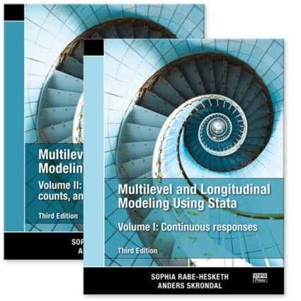 Multilevel and Longitudinal Modeling Using Stata, Volumes I and II, Third Edition: 3rd Edition (Paperback) book cover