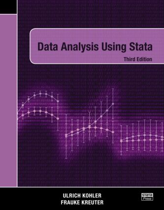 Data Analysis Using Stata, Third Edition: 3rd Edition (Paperback) book cover
